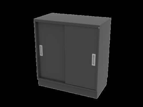 Cube Design | kontormøbler | Quadro | Skydedørsskab