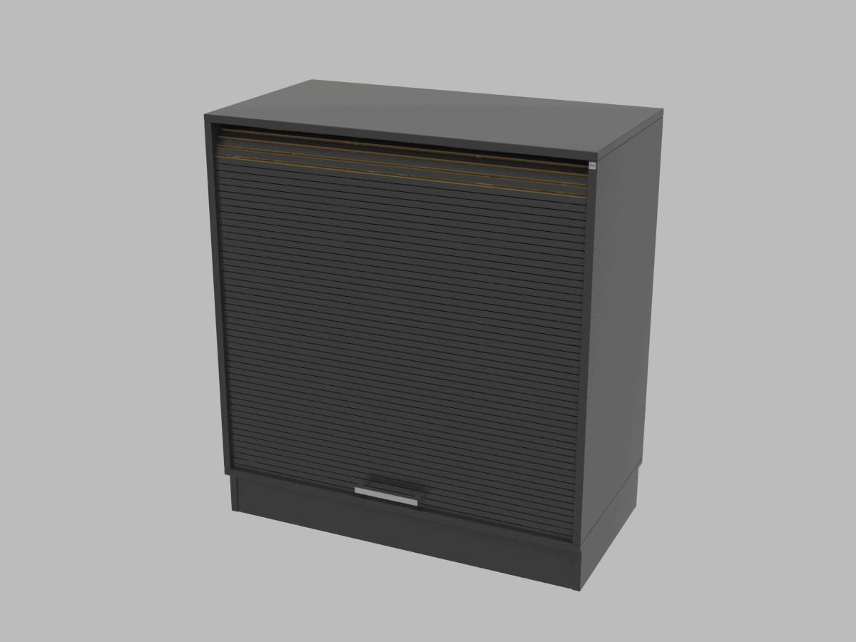 Cube Design - kontormøbler - Quadro opbevaring - jalousiskab