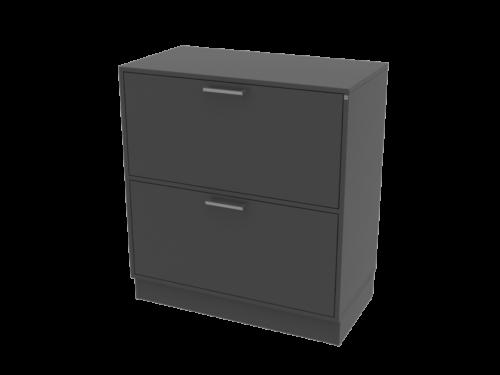 Cube Design | kontormøbler | Quadro | Hængemappeskab