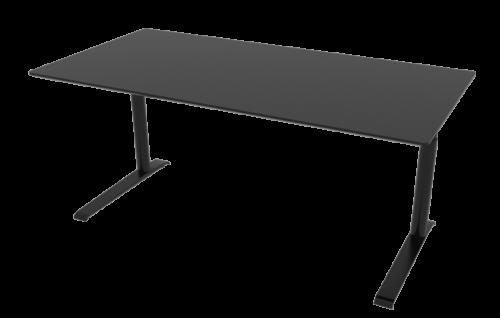 Cube Design - kontormøbler - Quadro skrivebord - rektangulær