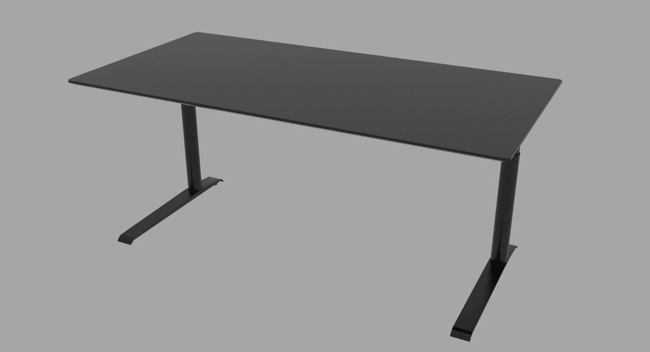Cube Design - kontormøbler - skrivebord - rektangulær
