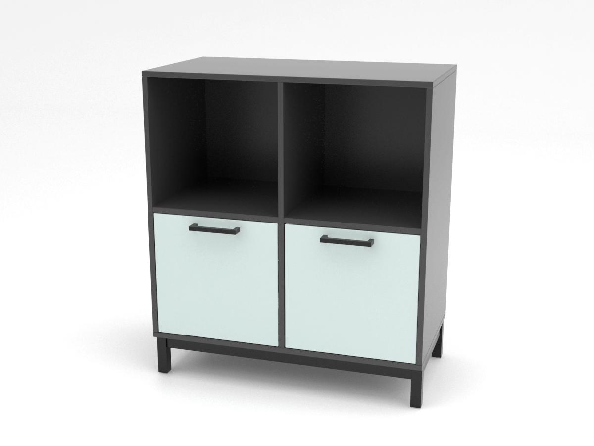 Cube Design | kontormøbler | Quadro | Reol | Hængemappeskuffe