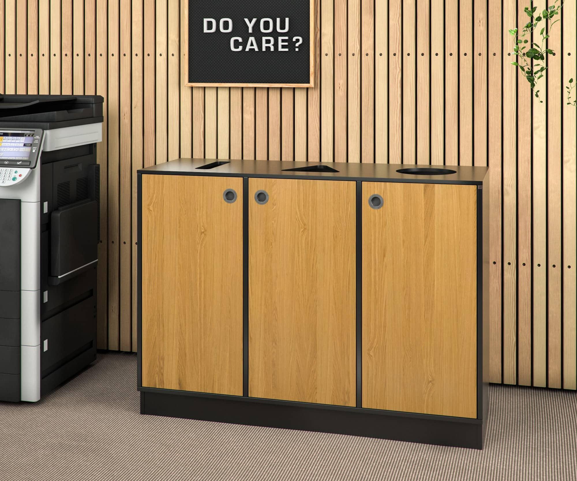 Cube Design | kontormøbler | Quadro | Miljøstation