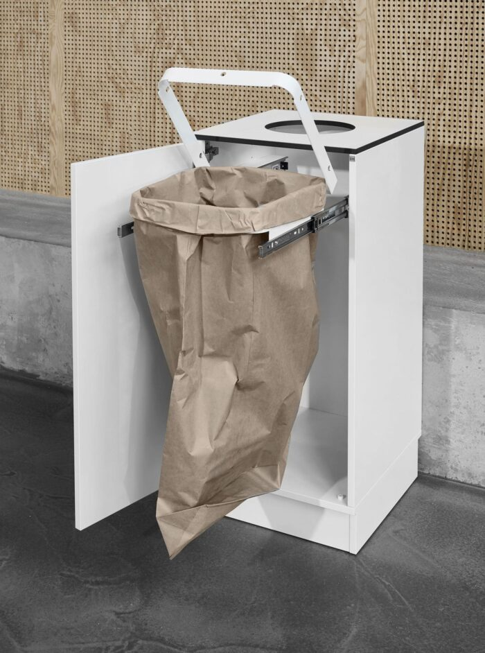 Cube Design - kontormøbler - miljøstation - FSC certificeret papirpose