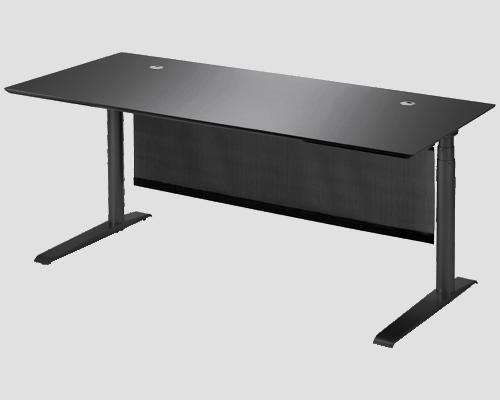 Cube Design | kontormøbler | skrivebord med gardin