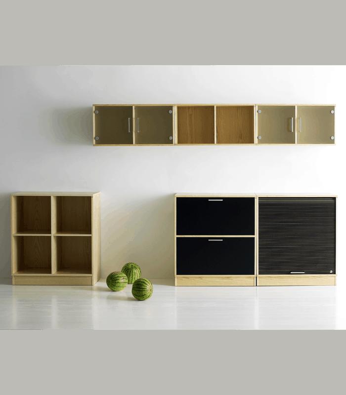 Cube Design | kontormøbler | jalousiskab