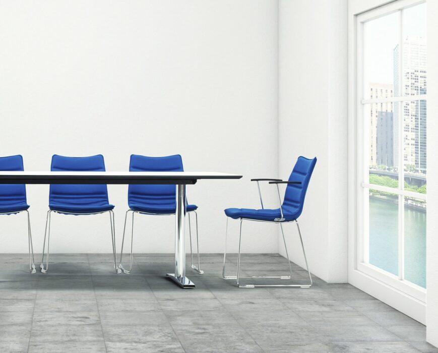 Cube Design - kontormøbler - medestole - s10 på meder - stol på meder