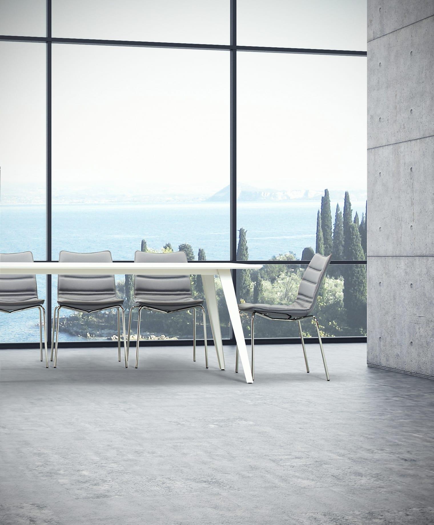 Cube Design - kontormøbler - stol på ben - S10 stol