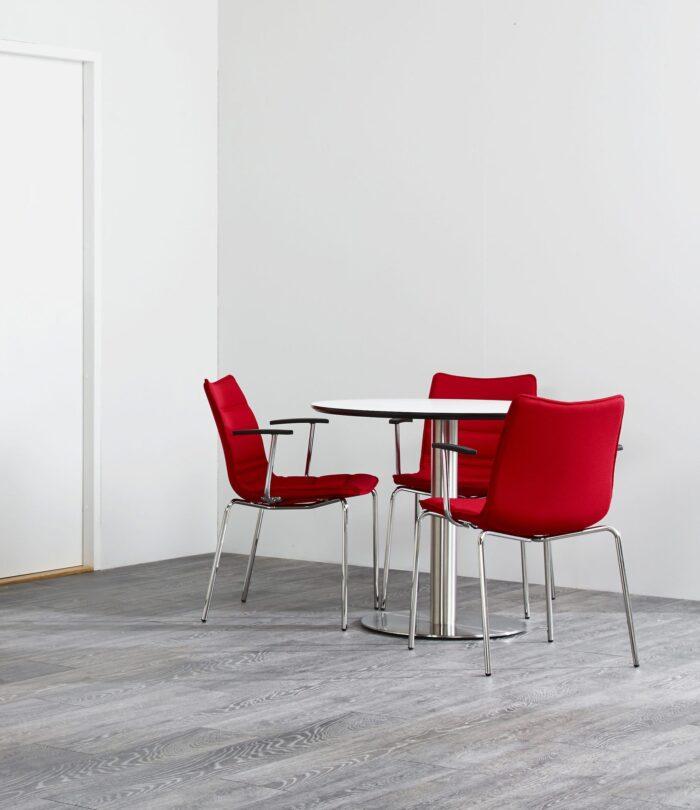 Cube Design - kontormøbler - S10 stole på ben