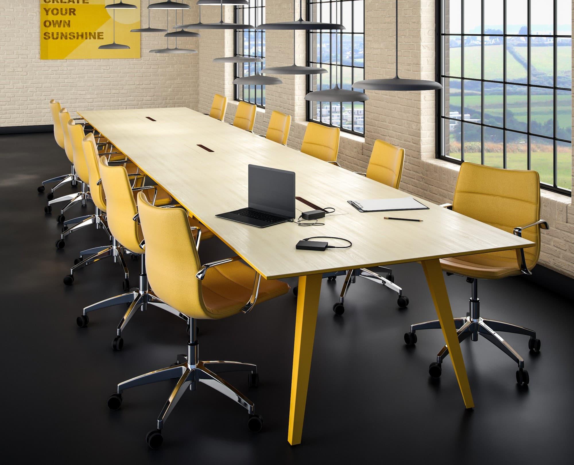 Cube Design - kontormøbler - S10 konferencestol - 13 forskellige polstringer