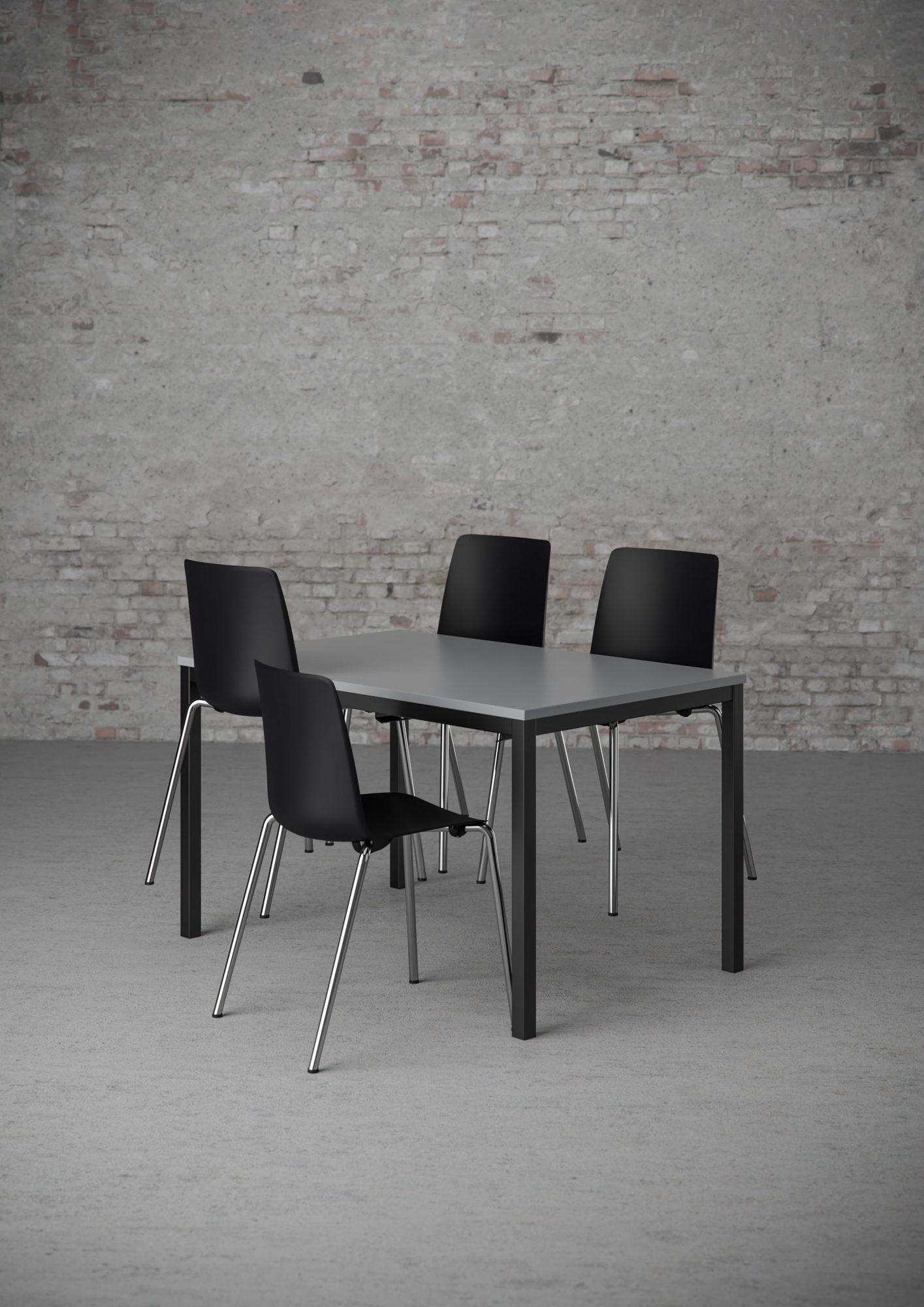 Cube Design - kantinebord - kantinestol - Vesper - skalstol - stoleophæng