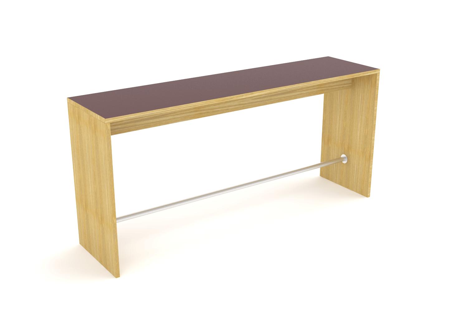 Cube Design - kontormøbler - Lite Cube i finer med fenix på toppen