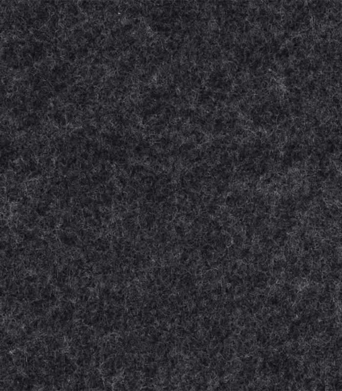 Boordskærmvæg – sort hush