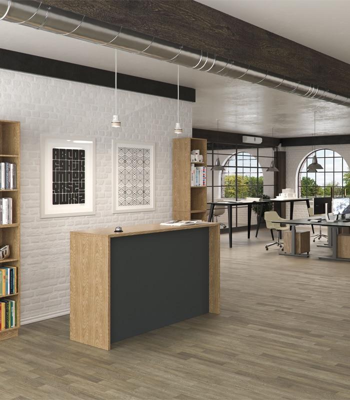 Cube Design- kontormøbler - lite cube højbord som bro