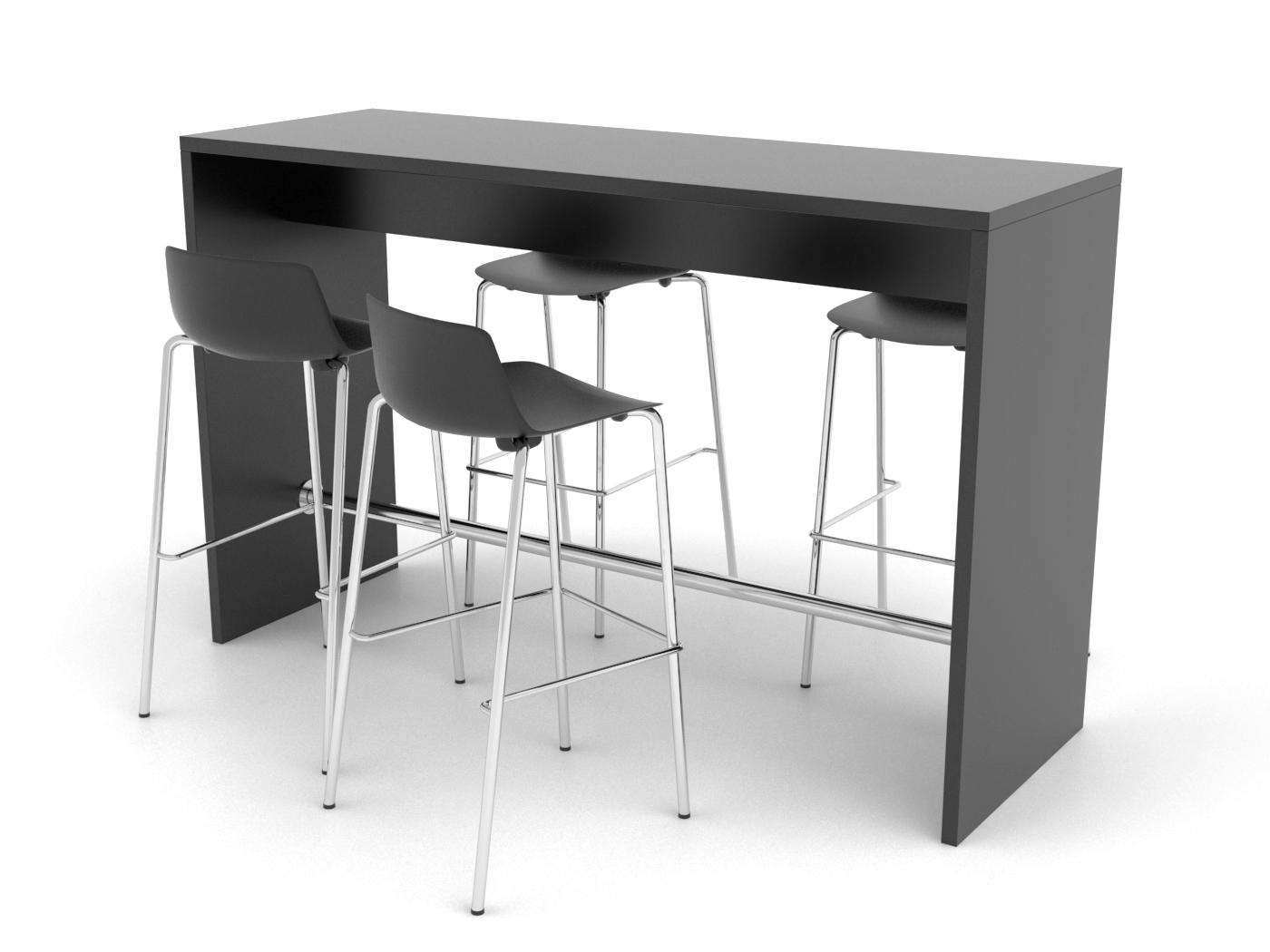 Cube Design - kontormøbler - højbord - Lite Cube - Vesper barstole