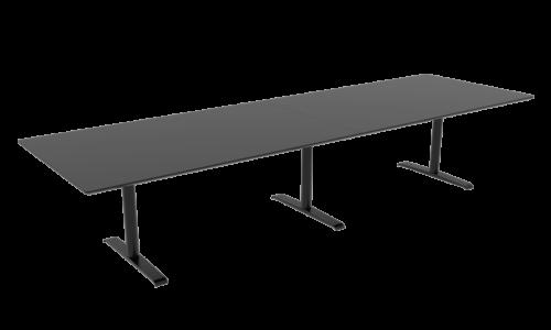 Cube Design - rektangulær konferencebord - Quadro T-stel