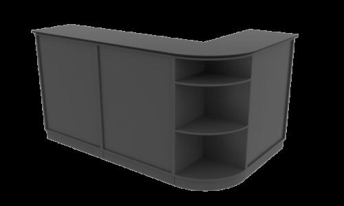 Cube Design - kontormøbler - Quadro skranke - skranke af reoler