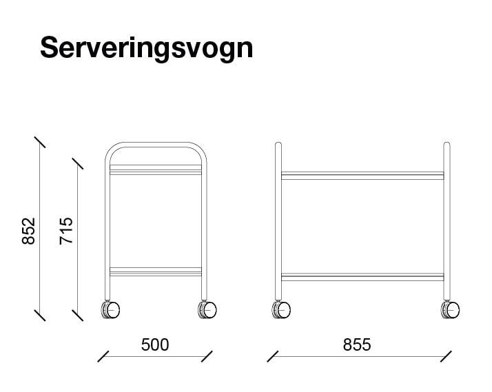 Serveringsvogn