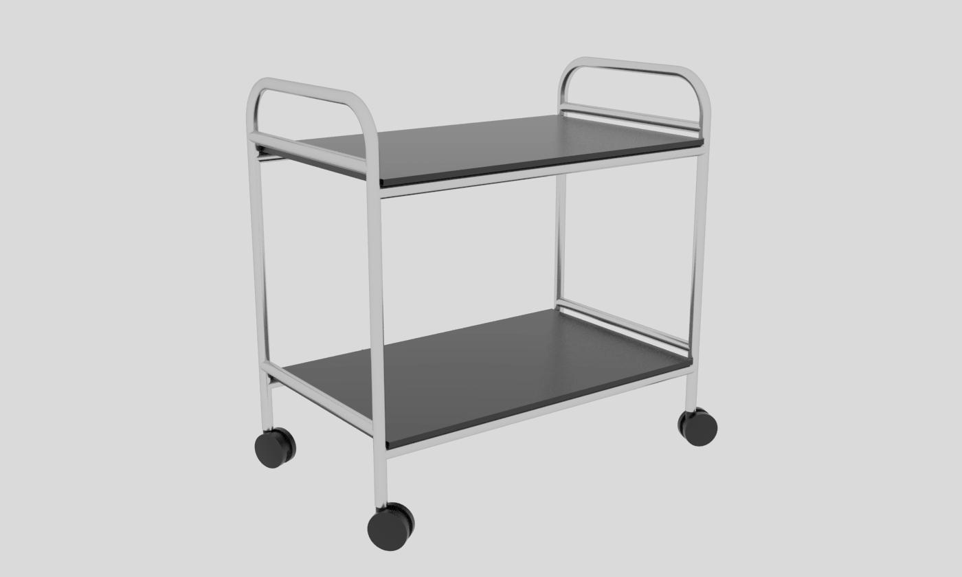Cube Design - kontormøbler - rullebord - serveringsvogn