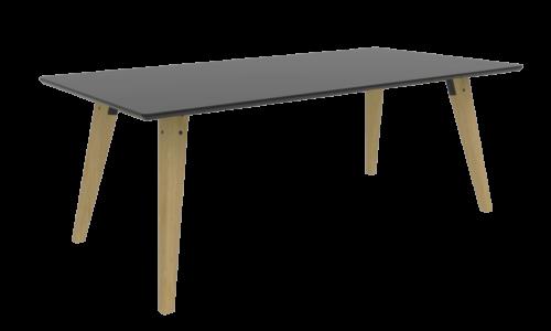Cube Design | kontormøbler | Spider | Mødebord | Egetræsben | rektangulære borde