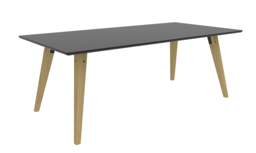 Cube Design | kontormøbler | Spider | Mødebord | Egetræsben