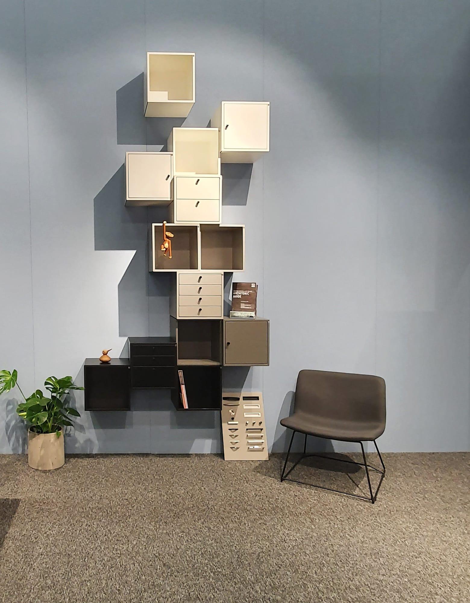SFF20 - v-væg og loungestol