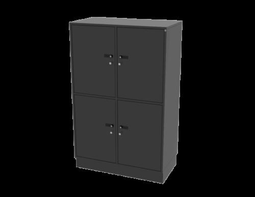 Cube Design - Quadro opbevaring - lockers - skabe med lås - garderobeskabe
