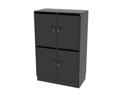 Cube Design - lockers med brevindkast