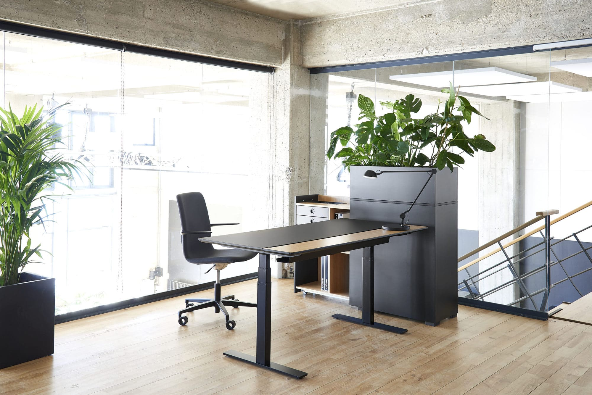 Raw split skrivebord