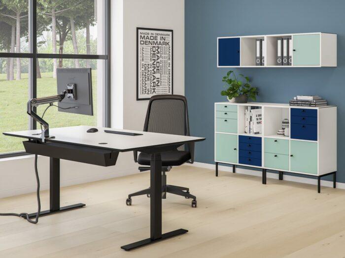 Cube Design - kontormøbler - monitorarm