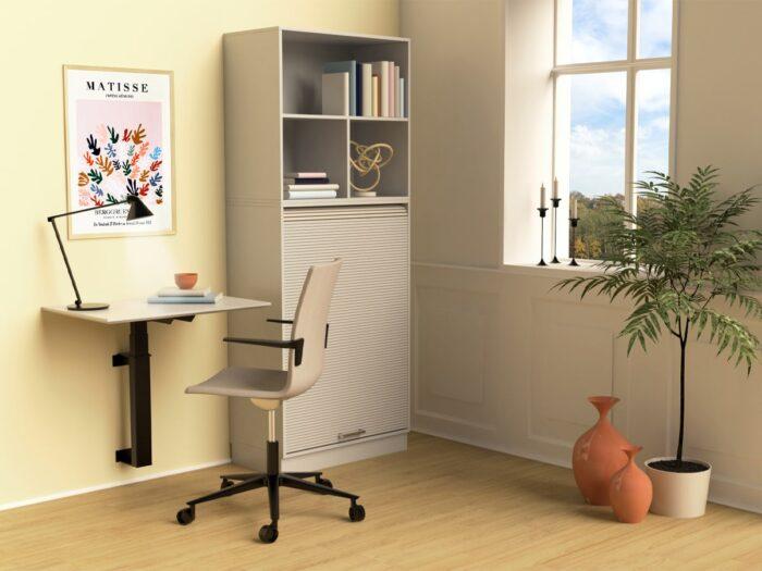 Cube Design - kontormøbler - RAW væghængt skrivebord - hjemmearbejdsplads