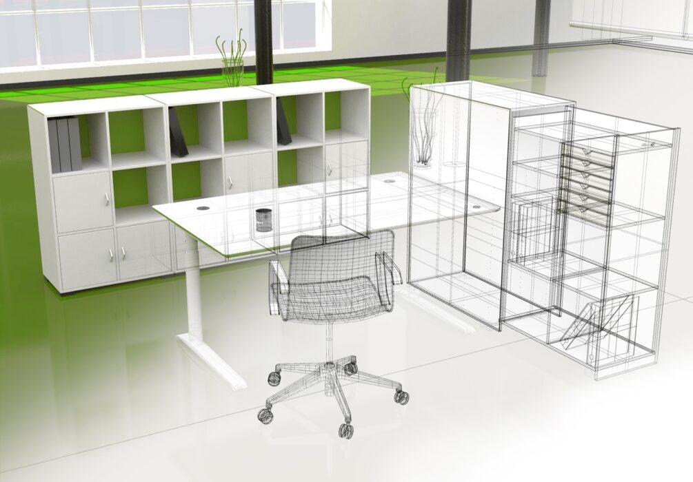 Cube Design - kontormøbler - pconplanner