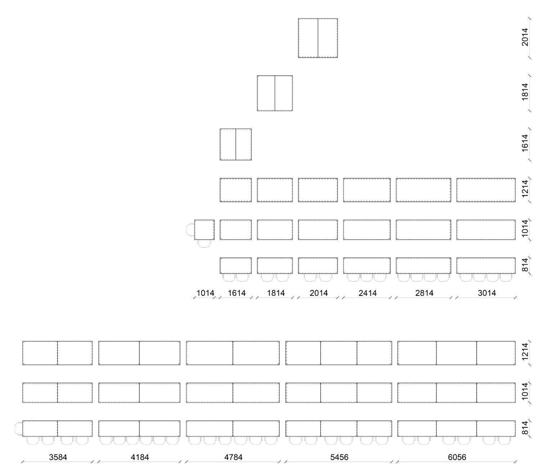 Verzo rektangulær