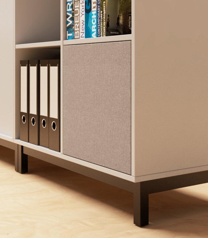 Cube Design - kontormøbler - Lemus højtaler i reol