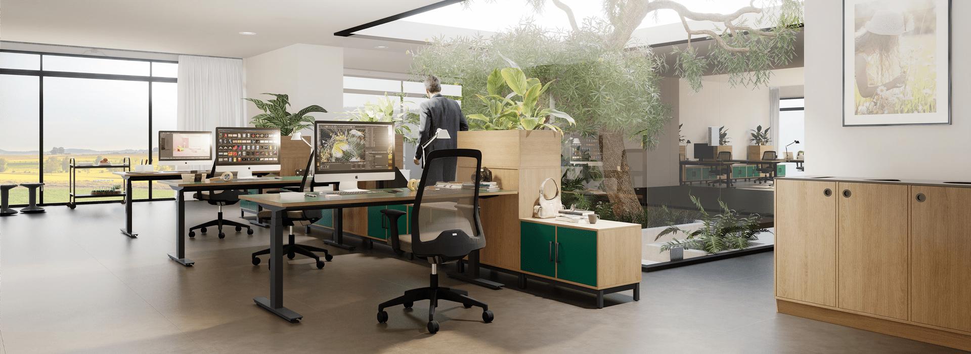 Cube Design kontoropstilling